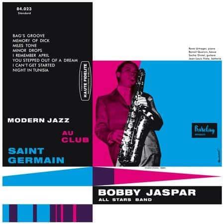 Bobby Jaspar - Modern Jazz au Club Saint-Germain 1