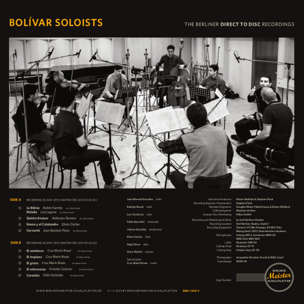 Bolívar Soloists - Música de Venezuela 2