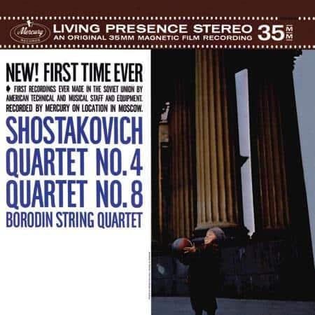 Borodin Quartet - Shostakovich: Quartet No.4; Quartet No.8 1