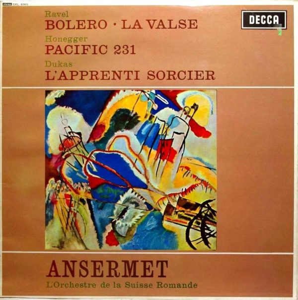 Ernest Ansermet - Ravel: Bolero/ La Valse/ Honegger: Pacific 231 1