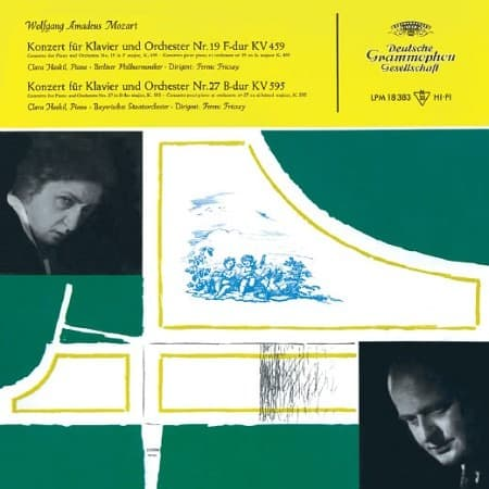 Ferenc Fricsay - Mozart: Concerto for Piano and Orchestra No. 19 & 27 1