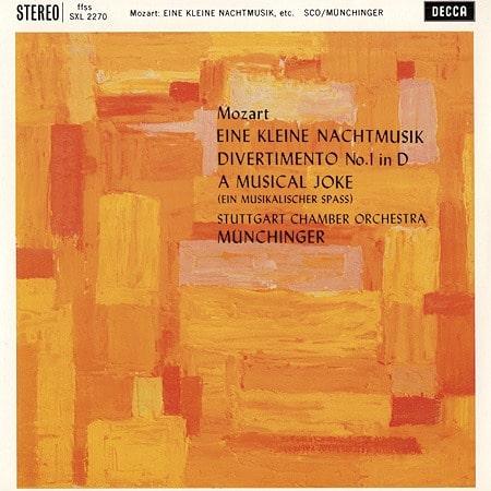 Karl Munchinger - Mozart: Eine Kleine Nachtmusik/ Divertimento No. 1/ A Musical Joke 1