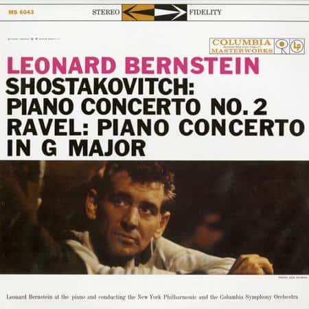 Leonard Bernstein - Shostakovich - Ravel - Piano Concertos 1