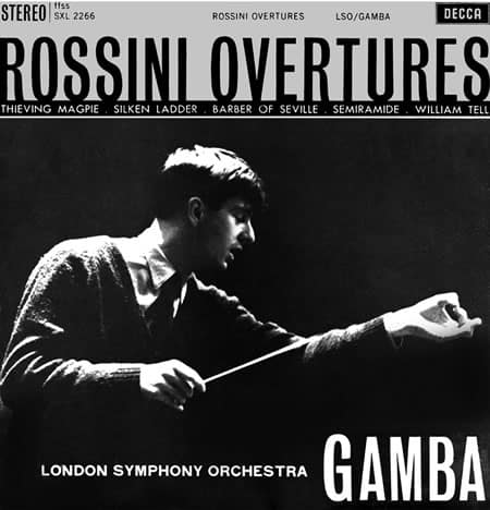 Pierino Gamba - Rossini Overtures 1
