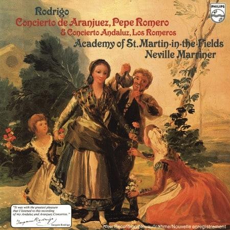 Neville Marriner - Rodrigo: Concierto de Aranjuez/ Concierto Andaluz 1