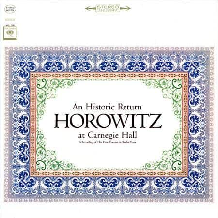 Vladimir Horowitz - Horowitz At Carnegie Hall 1