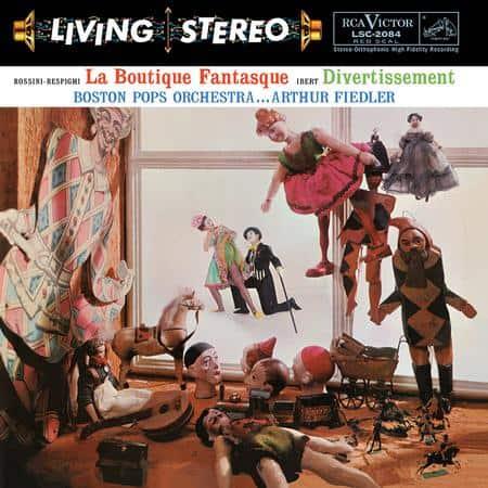 Arthur Fiedler, Boston Pops Orchestra - Rossini-Respighi: La Boutique Fantasque & Ibert: Divertissement 1