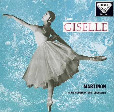 Martinon, Paris Conservatory Orchestra - Adam Giselle: ballet 1