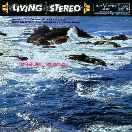 Munch, Boston Symphony Orchestra - Debussy: La Mer (The Sea) / Ibert: Port Of Call 1
