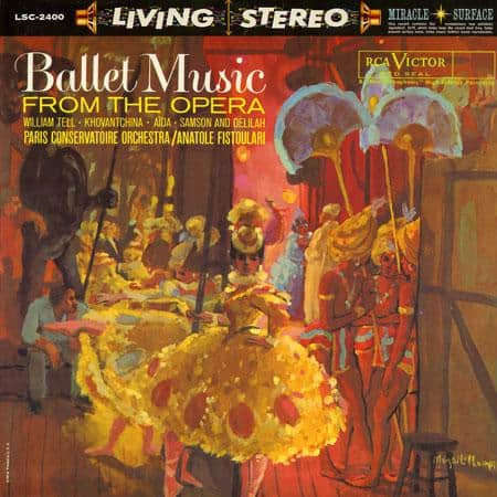 Fistoulari, Paris Conservatoire Orchestra - Ballet Music from the Opera 1