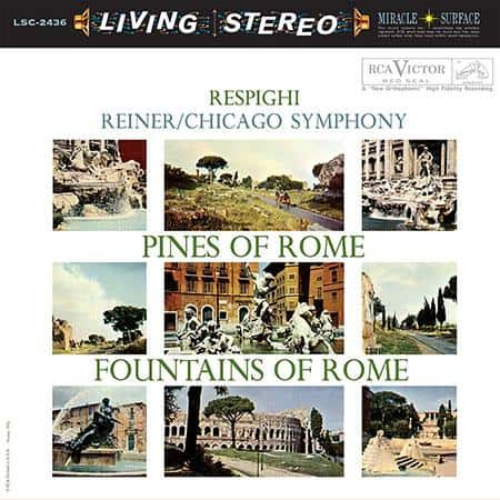 Fritz Reiner - Respighi: Pines of Rome & Fountains of Rome 1