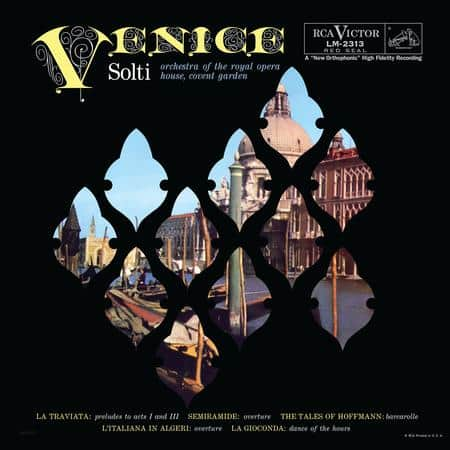 Georg Solti - Venice  (Royal Opera House Orchestra) 1
