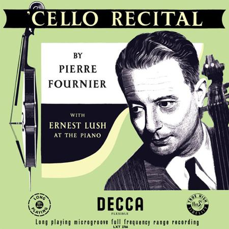 Pierre Fournier - Cello Recital/ Ernest Lush 1