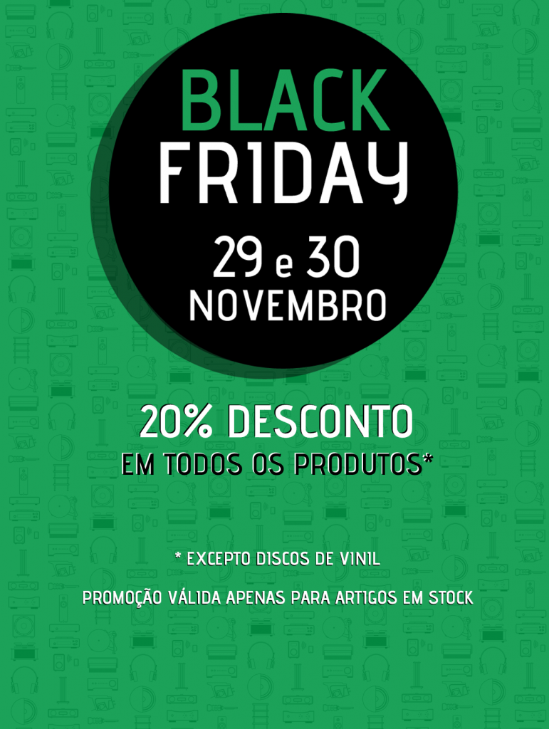 Black Friday na Audio Team 1