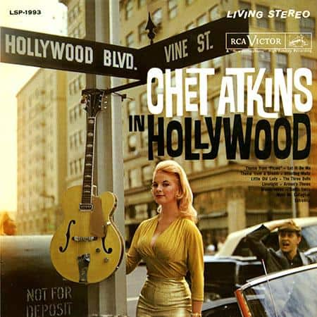 chet atkins disco de vinil hollywood