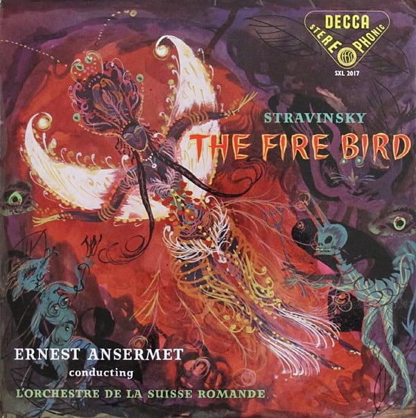 Stravinsky: Ernest Ansermet Conducting L'Orchestre De La Suisse Romande – The Fire Bird 1
