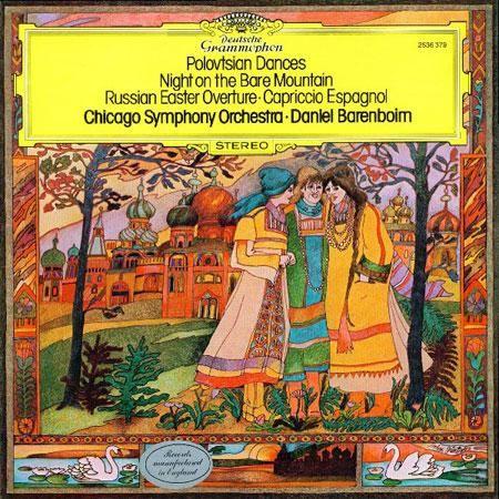 Polowet dances - A night on the bare mountain - Russian Easter - Capriccio espangnol 1