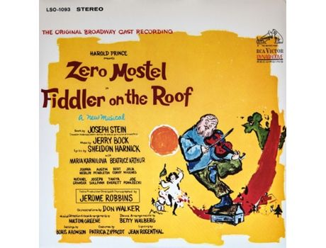 Fiddler on the Roof - Original Broadway Cast Recording 1