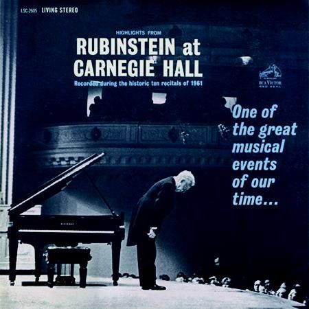 Highlights from Rubinstein at Carnegie Hall 1