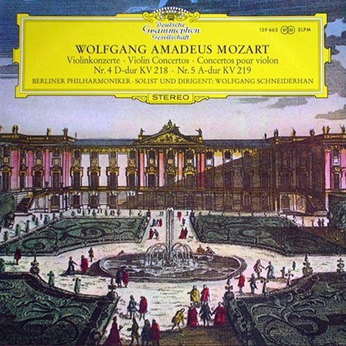 Mozart Violinkonzerte No. 4 & No. 5 1
