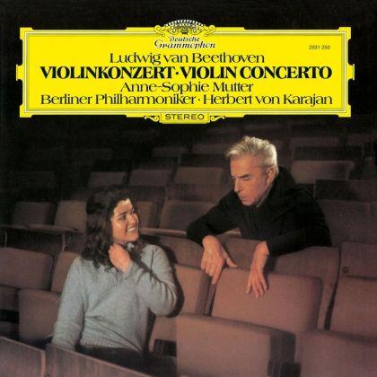 Anne-Sophie Mutter & Herbert Von Karajan Beethoven Violin 1